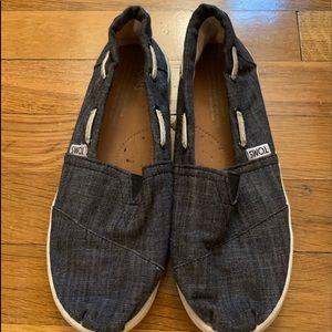 Toms shoes slip kids boys
